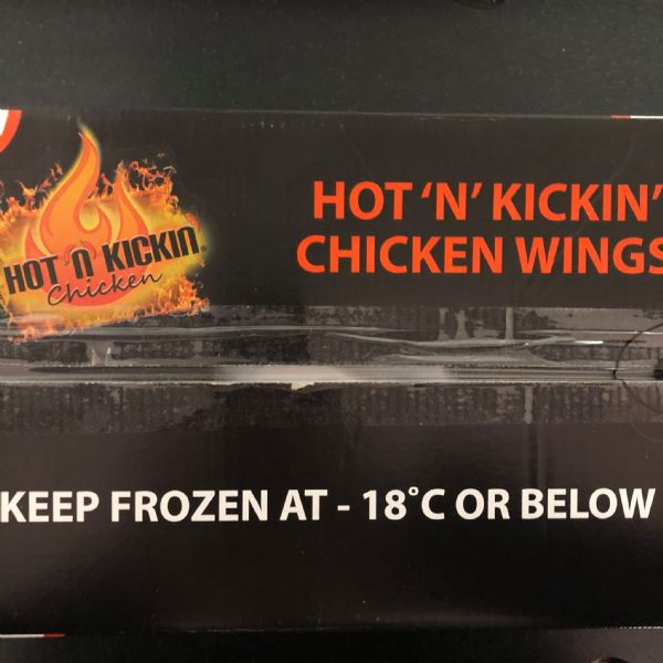 3kg Hot and Kickin' Chicken Wings